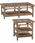 Primitive Coffee Table Set Sutton's Bay by Hekman HE-14100-SET