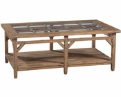 Primitive Rectangular Coffee Table Sutton's Bay by Hekman HE-14100