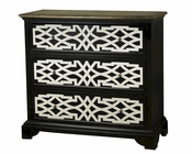 Pulaski Accent Chest in Deep Black Finish PF-675076