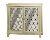 Pulaski Accent Chest w/ Antique Mirrored Doors PF-675084