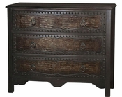 Pulaski accent Table w/ Faux Crocodile Front Panels PF-675123