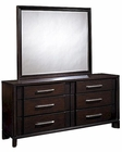 Pulaski Amaretto Dresser and Mirror PF-365100SET