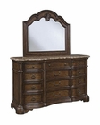 Pulaski Courtland Dresser and Mirror PF-504100SET