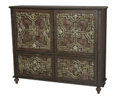 Pulaski Credenza w/ Faux Antique Tin Panels PF-675068