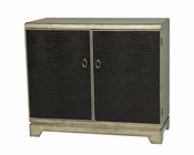 Pulaski Credenza w/ Faux Crocodile Door Panels PF-675025