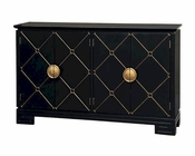 Pulaski Diamond Patterned Console PF-641158