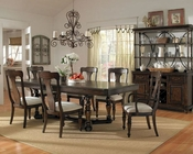 Pulaski Dining Set Saddle PF-508240SET