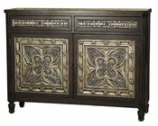 Pulaski Hall Chest w/ Faux Antique Tin Panels PF-675014