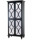 Pulaski Mirrored Doors Wine Cabinet PF-549237