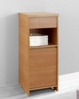 Raynard 16in Chestnut Side Cabinet by Virtu USA VU-ESC-900-CH