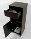 Raynard 16in Espresso Side Cabinet by Virtu USA VU-ESC-900-ES
