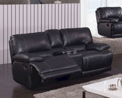 Reclining Black Loveseat MCFSF3609-L