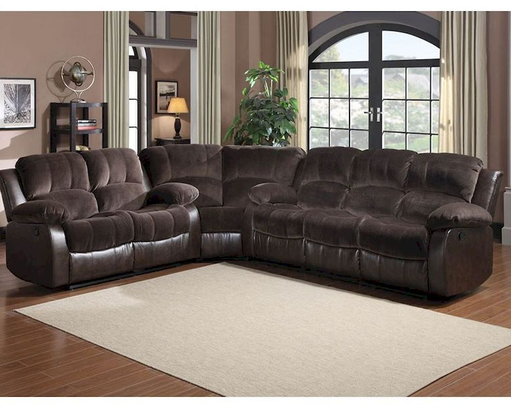 Peachy Reclining Sectional Sofa Set Cranley By Homelegance El Ocoug Best Dining Table And Chair Ideas Images Ocougorg