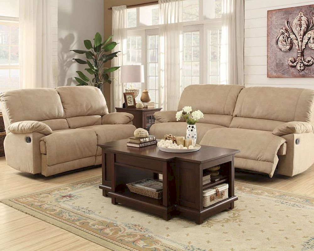 Reclining Sofa Set Elsie by Homelegance EL-9713NF-SET : recliners sofa sets - islam-shia.org