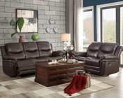Reclining Sofa Set St Louis Park by Homelegance EL-8515BRW-SET