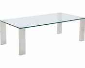 Rectangle Coffee Table Beth by Euro Style EU-38701