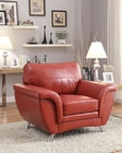 Red Chair Chaska by Homelegance EL-8523RED-1