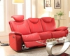 Red Double Reclining Sofa Talbot by Homelegance EL-8524RD-3
