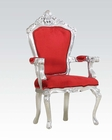 Red Fabric Accent Chair by Acme Furniture AC59113