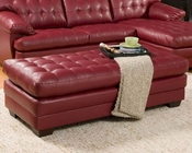Red Ottoman Brooks by Homelegance EL-9739RED-4