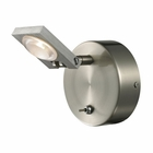 ELK Reilly Collection 1 light bath in Brushed Nickel-Brushed Aluminum EK-54010-1