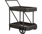 Replenish Patio Beverage Cart in Espresso by Modway MY-EEI970EX