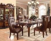 Rich Cherry Dining Set Winfred by Acme Furniture AC60075SET