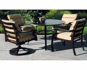 "Riva Patio Set w/ 48"" Round Table by Sunny Designs SU-4715-Set3"