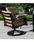 Riva Swivel Rocker Chair by Sunny Designs SU-4715-S (Set of 2)