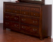 Rock Ridge Dresser by Sunny Designs SU-2379WT-D