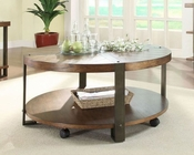 Round Cocktail Table Northwood by Homelegance EL-3438-01
