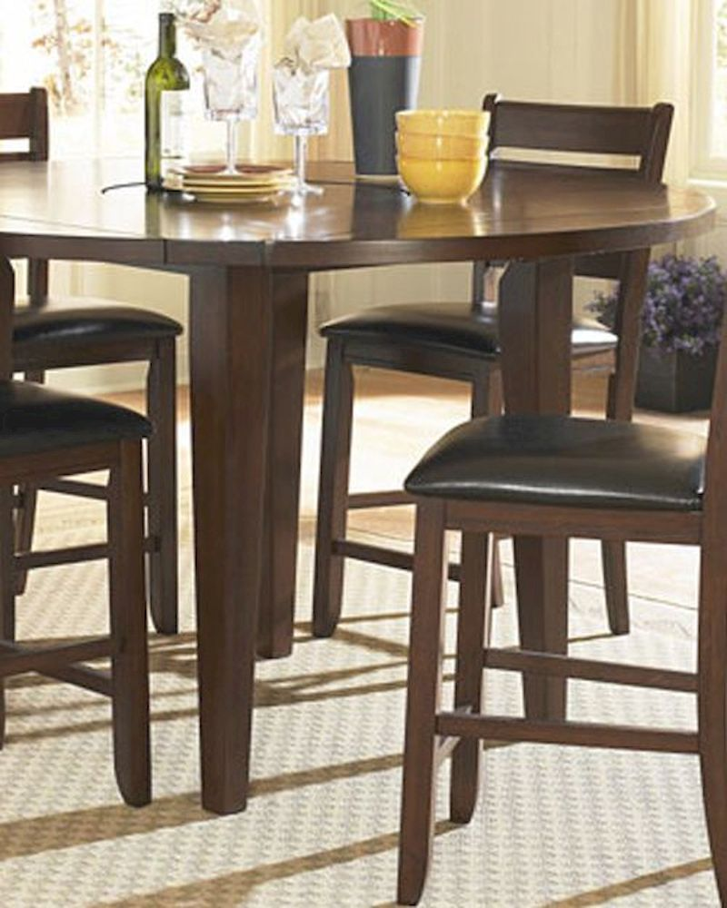 Round Countrer Height Dining Table Ameillia EL 586 36RD