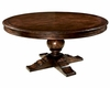 Round Dining Table Charleston Place by Hekman HE-942703CP
