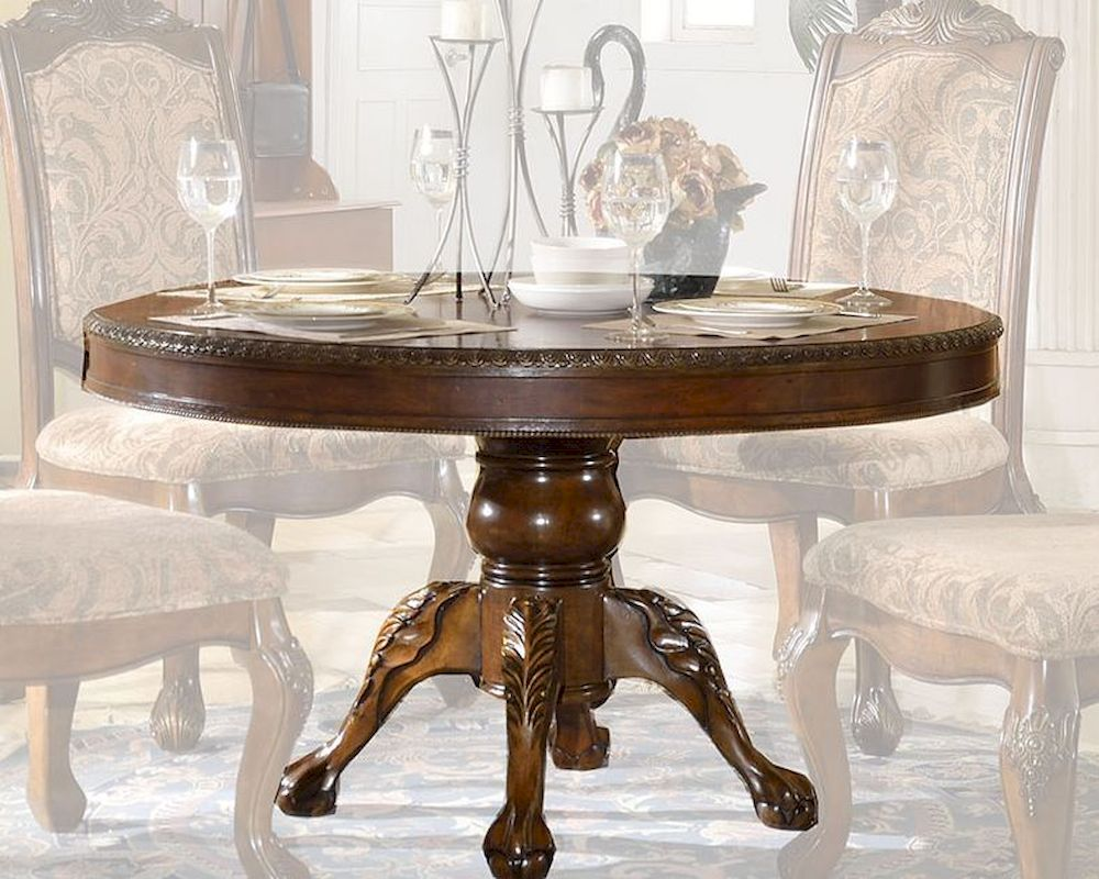 Round Dining Table In Traditional Style Mcfd8500 Rt