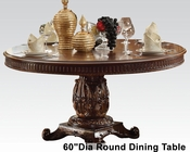 Round Dining Table Vendome Cherry by Acme Furniture AC62015