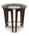 Round End Table Carmen by Magnussen MG-T3110-05
