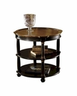 Round Library Table Tuscan Estates by Hekman HE-72307