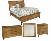 Rustic Bedroom Set Harbor Springs by Hekman HE-941506RL-SET
