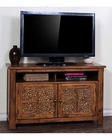Rustic Oak TV Console Sedona by Sunny Designs SU-3484RB