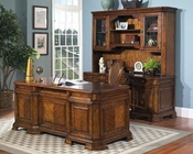 Samuel Lawrence Madison Computer Desk & Hutch Set SL-4455-911SET