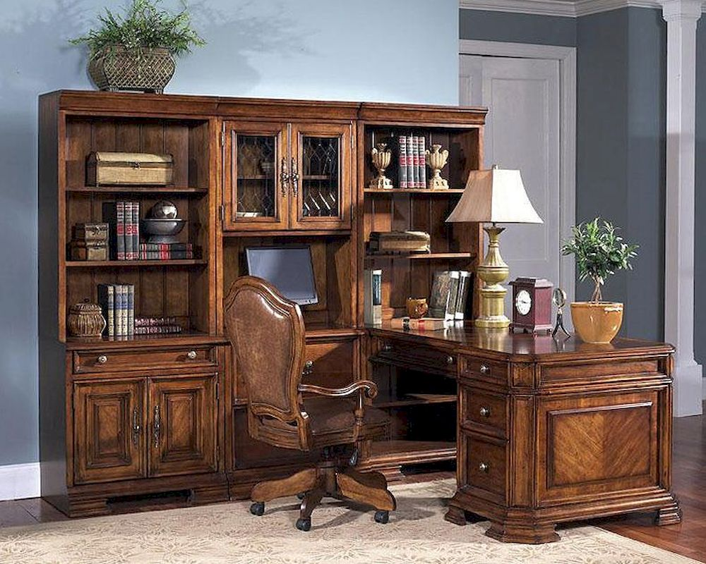 Samuel Lawrence Madison Desk & Bookcase Set SL-32-32SET
