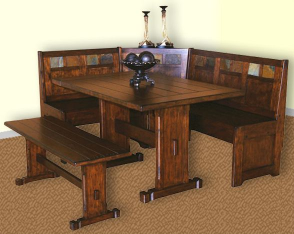Santa Fe Breakfast Nook Set SU 0230DCs