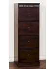 Santa Fe Four File Cabinet by Sunny Designs SU-2863DC-F4