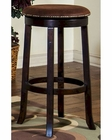 Santa Fe Stool  w/ Cushion Seat by Sunny Designs SU-1783DC (Set of 2)