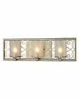 ELK Santa Monica Collection 3 light bath in Aged Silver EK-31428-3