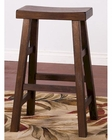 Savannah Saddle Seat Stool  by Sunny Designs SU-1769AC (Set of 2)