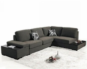 Sectional Sofa Bed Set 44L1015