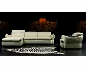 Sectional Sofa & Chair in Contemporary Style 44LL610