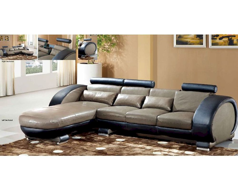 Sectional sofa in european style 33ls301 for Sectional sofa european style