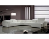 Sectional Sofa in Leather 44L6045